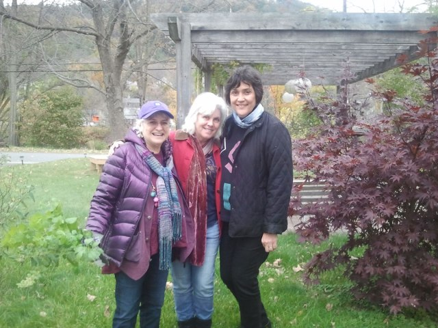 And a visit from Sally and Nancy this past weekend