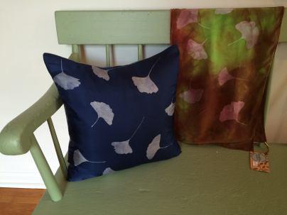 New ginkgo pillows