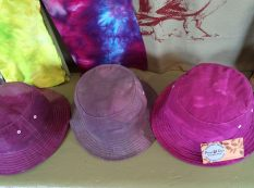 fab fishing hats hand dyed of course